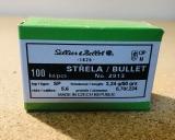 S&B 2913 - .224, 50 grain, S & B Geschosse, Teilmantel