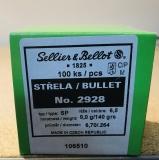 S&B 2928 - .264, 140 grain, S & B Geschosse, Teilmantel